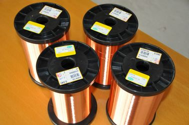 Winding Enamelled Round Copper Wire AWG 42 - 43 Solderability NEMA Class 200