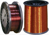 Self Bonding Enamelled Copper Wire Diameter 0.04mm With High Heat Resistance